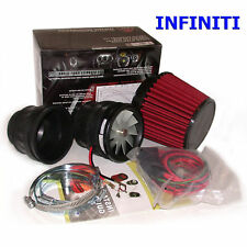 Intake Supercharger Kit Turbo Chip Performance for Infiniti
