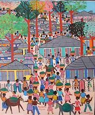 Stunning  Art  by Well Known Haitian Artist Etienne Chavannes