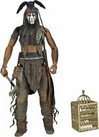"""The Lone Ranger TONTO 7"""" Articulated Action Figure - NECA Series 2 Johnny Depp"""