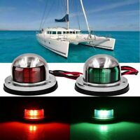 12V LED Yacht Navigation Light Stainless Steel Accessories For Bow Marine Boat