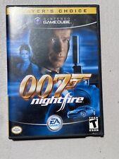 007: NightFire Nintendo GameCube 2002 Complete with Manual