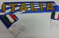SCIARPA SPORTIVA LEGGERA FORZA ITALIA NAZIONALE ITALIANA AZZURRI TRICOLORE SPORT