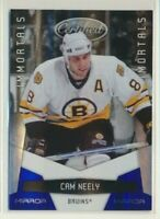 2010-11 Panini Certified Immortals Blue Mirror 151 Cam Neely /100 Boston Bruins