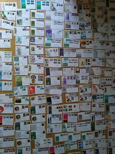 150 Duplicated Mixed condition First Day Covers