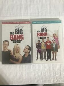 THE BIG BANG THEORY Complete Series Seasons 1 And 2 DVD Box Set