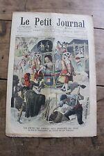 Petit journal illustré N°892 1907 Inondés du Midi Locomotion à travers les âges