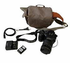 FUJIFILM Digital SLR Camera FinePix S200EXR  Whith Case Bag  14.3x lense