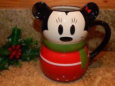 Pasadena CA Disney Store Minnie Mouse Christmas Mug