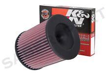 K/&N Filters Fits 2010-2012 Audi A8 Quattro Hi-Flow Air Intake Filter