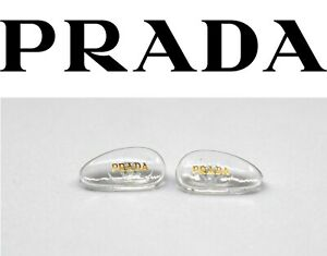 Replacement Screw-in Nose Pads for PRADA Eyeglasses Sunglasses W/ Screws Gold