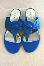 NINE WEST SIZE 7 RISING STAR AQUA NEW WITHOUT BOX
