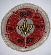 Boy Scout 1957 World Jamboree