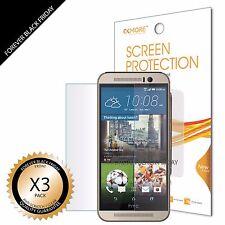 3x Anti-Scratch HD Clear Screen Protector Shield Guard Saver Film For HTC ONE M9