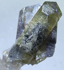 TANSANIT Kristall (9.1 gr)  Roh Tanzanit / Tanzanite Crystal rough