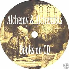 Alchemy Alchemists CD 29 Old Books Hermetic Philosophy Antique Book Collection