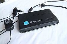 Digital Stream DTX9950 Digital to Analog TV Tuner Converter Box - No Remote