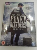 PEAKY BLINDERS SERIES SEASON 4 REGION 2 DVD SET 50% OFF RRP LIMITED STOCK OFFER