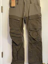"""Fjallraven """"Keb"""" Trousers, Regular NWT Color-Tarmac Size EU 50 33""""-34"""""""