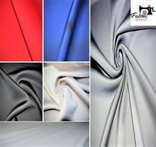 Premium Plain  Neoprene Scuba Fabric, 5 Colours, High Quality Fabric,150 cm Wide