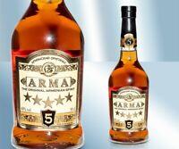 "Armenischer Brandy ""ARMA"" 5 Jahre 40% Армянский коньяк Брэнди ""АРМА"" 5 лет 0,5L"