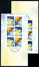 Greenland #509-510b, Christmas, booklet panes, VFU (TP00038)