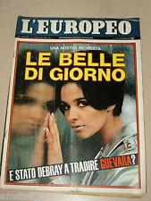 L'EUROPEO=1967/47=MICHAEL BOYS=LILI BRIK=PRET A PORTER=JACQUELINE SUSANN=