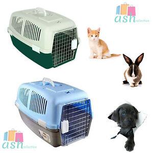 Medium Pet Carrier For Cat, Dog, Puppy, Rabbit, Travel Box Basket Cage Outdoor