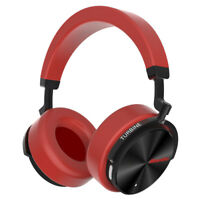 Bluedio T5 Bluetooth Headphone Active Nosing Cancelling Red Bass Mic Headsets