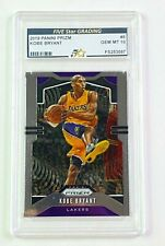 Kobe Bryant Graded 2019 Panini Prizm #8 FIVE star Grading GEM MT 10