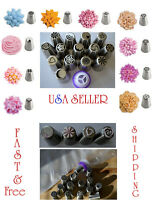 22 piece Russian Flower Cake Icing Piping Nozzles Decorating Tips Baking Tools