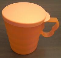 Tupperware J 25 Junge Welle Tasse 350 ml mit Deckel Rot Neu