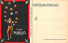 A9976) BIELLA, MANIFATTURA LESNA, FILATI RUBELLO, AVVISO DI PASSAGGIO.