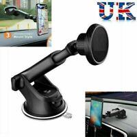 UK 360° Magnetic Car Phone Holder Mount Dashboard Windshield For any mobile,.
