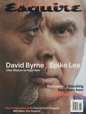 Esquire Magazine October November 2020 David Bryne Spike Lee