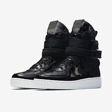 Womens Nike SF1 SE PRM AJ0963-001 Black/Black Brand New Size 8