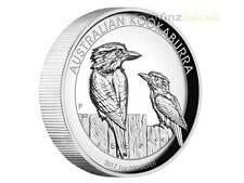 1 $ Dollar Kookaburra High Relief Australien 1 oz Silber Silver Proof PP 2017