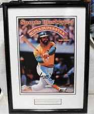 "Reggie Jackson Signed Framed 8x11 UDA Sports Illustrated Photo  ""Superduperstar"""