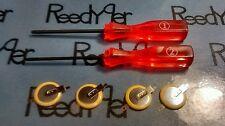 Y & X Triwing 2 screwdriver set 4 Pokemon batteries CR1616 gameboy color advance
