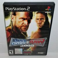 WWE SmackDown vs. Raw 2009 Featuring ECW (Sony PlayStation 2, 2008) Complete