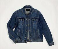 Celio jacket jeans uomo usato M denim giacca bomber giubbino vintage T6283