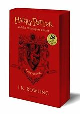 Harry Potter and the Philosopher's Stone - Gryffindor Edition by J.K. Rowling PB