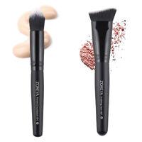 Brosse de Maquillage Visage - Pinceau à Fond de Teint Liquide et Poudre,Pinceau