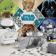 Wall mural wallpaper for children'd bedroom Cartoon style Star Wars