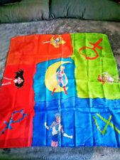 Sailor Moon Seidentuch 86x85cm Moon, Jupiter, Merkur, Mars *RARITÄT SELTEN*