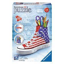 PUZZLE 3D SNEAKER SCARPA AMERICA PORTAPENNE RAVENSBURGER 108 PZ 12549