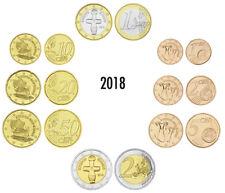 ZYPERN EURO-KMS 2018 AUS ORIGINALROLLEN LOSE 3,88 EURO BANKFRISCH
