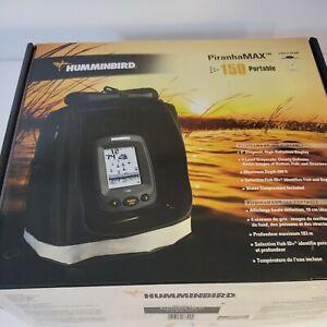 Humminbird Fishfinder PiranhaMax 150 PT  Portable 407200-1 New