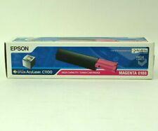 Genuine OEM Epson AcuLaser Toner Cartridge for C1100 MAGENTA 0188