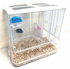 3-Level Transparent Clear Cage Gerbil Guinea Pig Habitat Rodent Rat Mice Hamster
