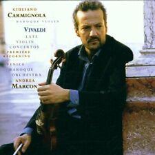 Giuliano Carmignola Vivaldi: Late violin concertos (2001, Sony, & Venice .. [CD]